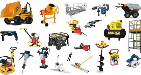 Equipment Hire, Machinery Hire, Plant Hire, Tool Hire