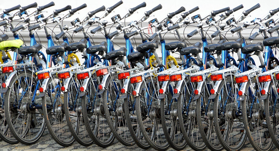 bicycles and bikes